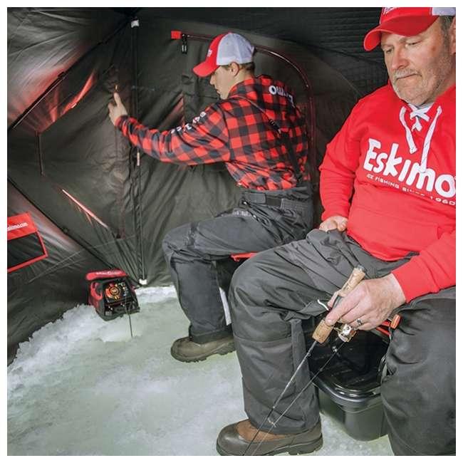ESK-25502 Eskimo 25502 Evo 2iT 2-Person Portable Ice Fishing Shelter & Sled 2