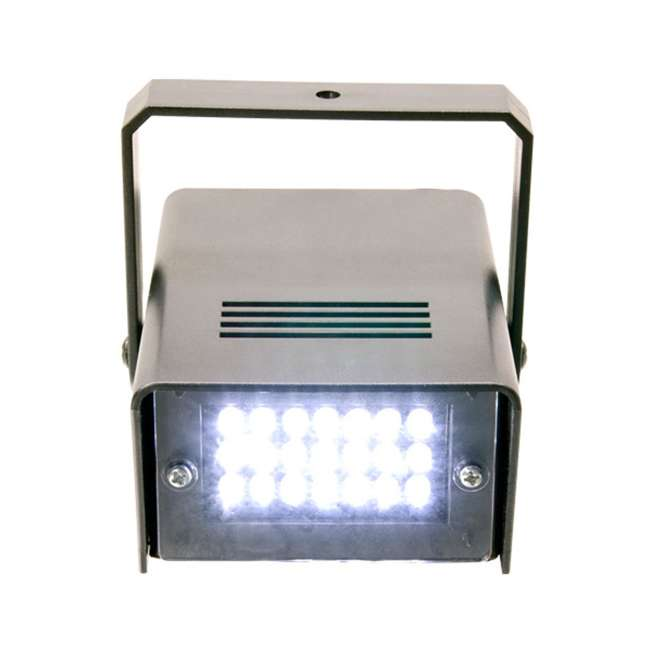 HURRICANE-HAZE2D + FJU + MINISTROBE-LED Chauvet DJ Hurricane Haze 2D Fog Machine w/ Remote, Fog Juice, & Strobe Light 8