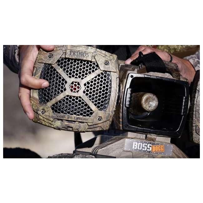 PRM-3757 Primos Boss Dogg 150W 5 Speaker Predator Caller with Decoy & Remote 3