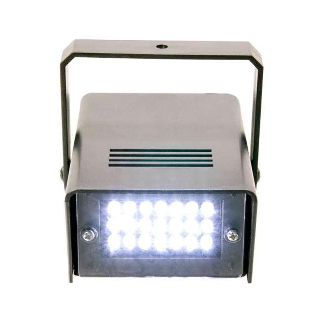 HURRICANE-HAZE2D+FJU+ MINISTROBE-LED + BLACK-24BLB CHAUVET Fog Machine w/ Mini Strobe Light Effect, Black Light & Fog Fluid 7
