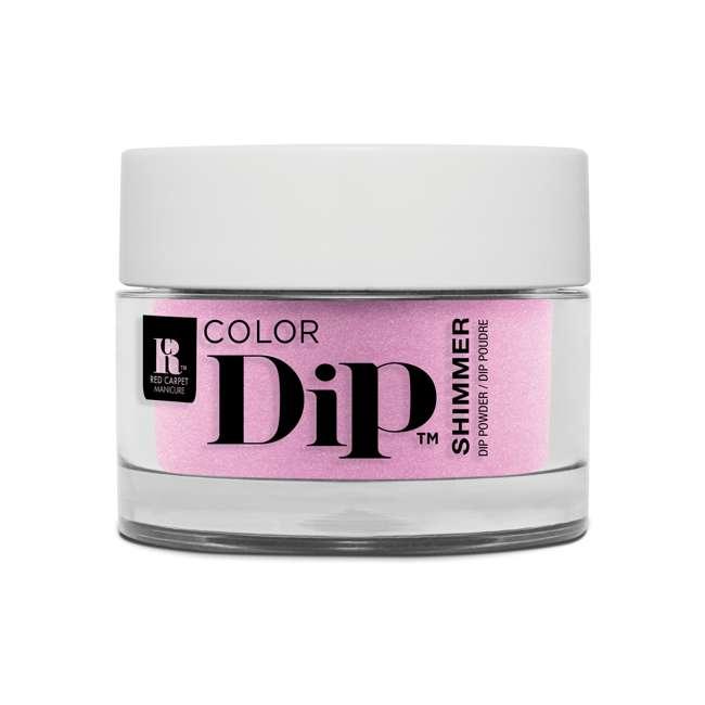 Red Carpet Manicure Color Dip Nail Dip Powder Brigh As