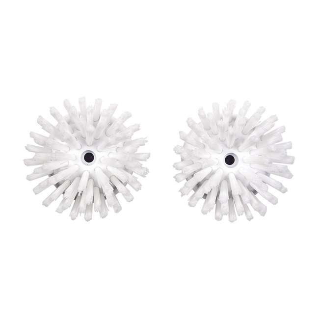 6 x 1256500 Oxo Good Grips Replacement Soap Dispensing Palm and Mesh Brush Refills (72 Pack) 1