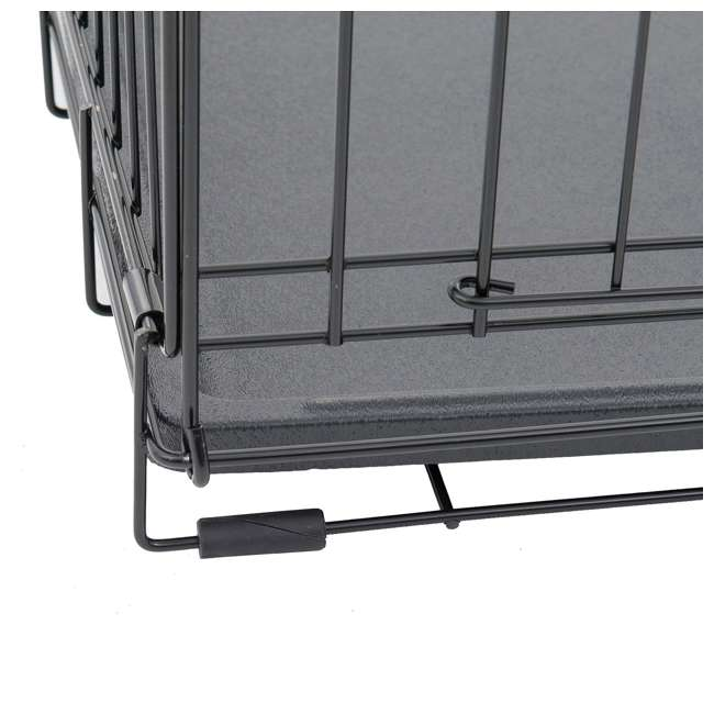 ZW 11542-U-A Lucky Dog 2 Door Dog Kennel w/ Leak Proof Removable Pan, Extra Large (Open Box) 3