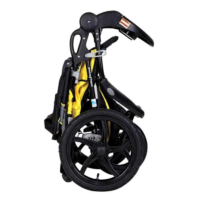 JG95A16A Baby Trend XCEL Jogger Stroller, Lemon Zest  4