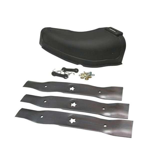 "HV-PA-586117001-U-A Husqvarna 48"" Blade Push Mower Mulching Kit with 54"" Cover (Open Box) (2 Pack) 3"