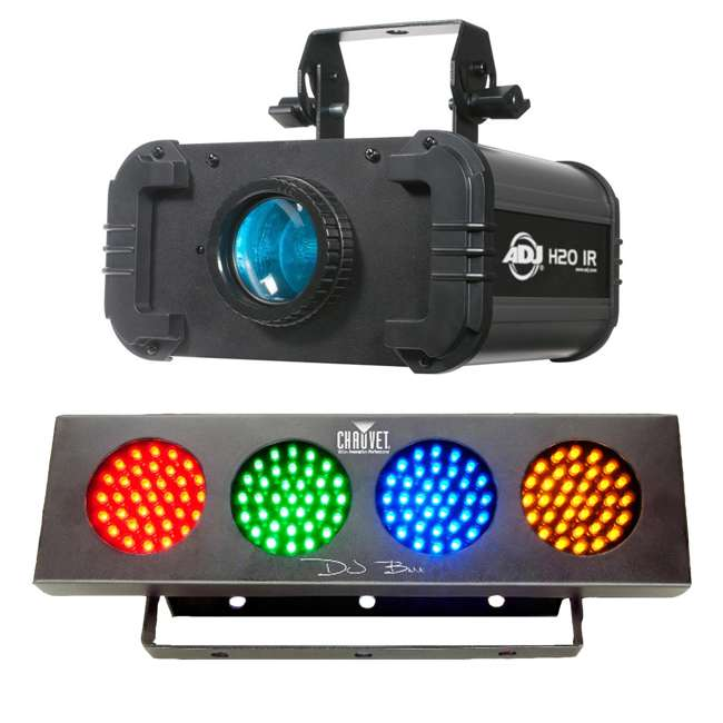 H2O-IR + DJBANK American DJ H2O IR Water Light and Chauvet Sound Active Light