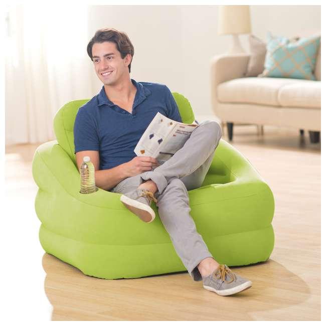 Intex Inflatable Accent Chair Green  sc 1 st  VMInnovations & Intex Inflatable Accent Chair Green : 68586EP islam-shia.org