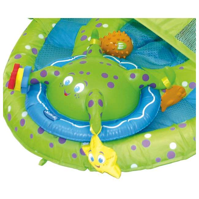 11601 SwimWays Baby Spring Float Activity Center with Sun Canopy | 11601 (2 Pack) 4