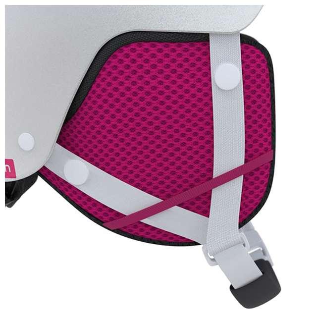 L39916000 - JRM Salomon Kiana Kids Ski or Snowboard Helmet Size Junior Medium, White 2