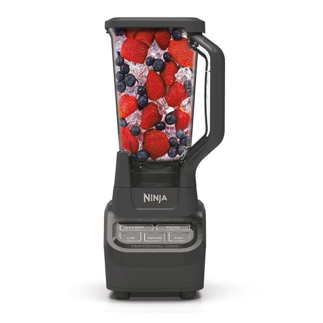 BL710WM_EGB-RB Ninja BL710WM Professional 72 Ounce Countertop Blender w/ 1000 Watt Base, Black 1