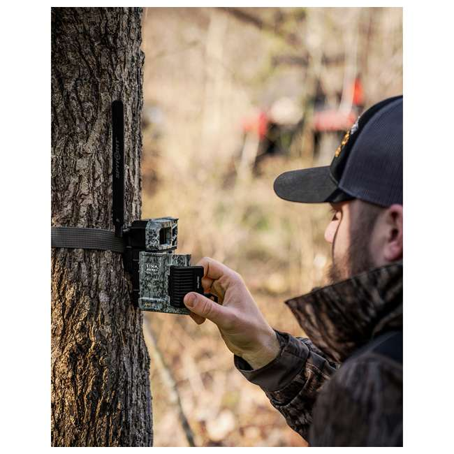 MICROUS + Box SPYPOINT LINK MICRO Nationwide Cellular Hunting Trail Game Camera & Security Box 7