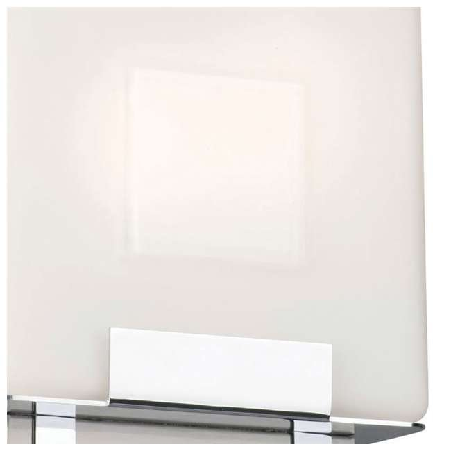 3 x PLC-F544336E1 Phillips Forecast Square Bathroom Light, Satin Nickel (3 Pack) 3