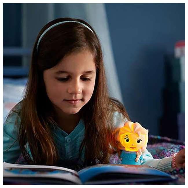 PLC-799965 + PLC-7176803U0 Philips Disney Frozen Olaf and Elsa Kids Soft Pals Nightlight Friend 9