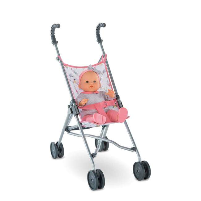 FPK23 + FRV17 Corolle Mon Grand Poupon Drink & Wet Potty Training Emma Doll and Toy Stroller 9