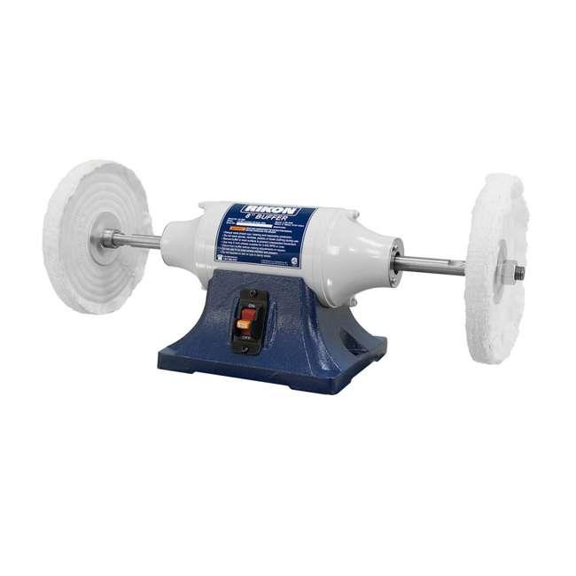 81-608 Rikon Power Tools 81-608 8-Inch 0.5 Horsepower Low-Speed Long Shaft Buffer 1