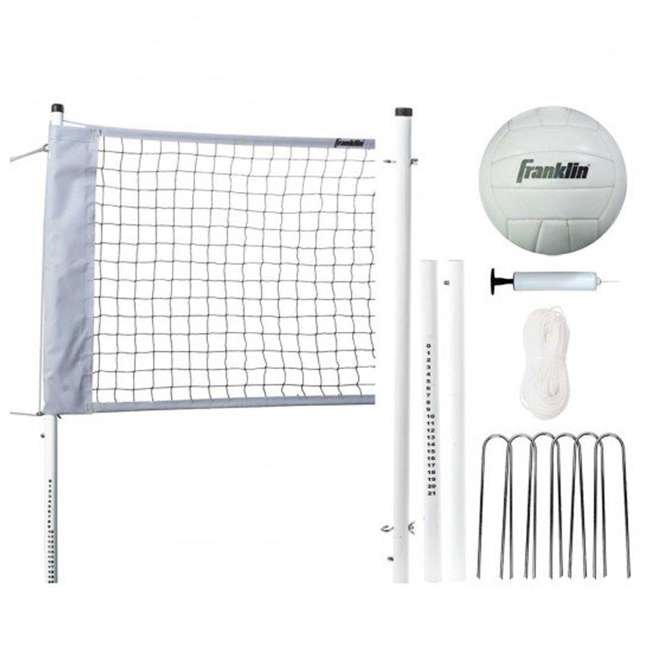 52642 Franklin Sports Professional Volleyball Game Set