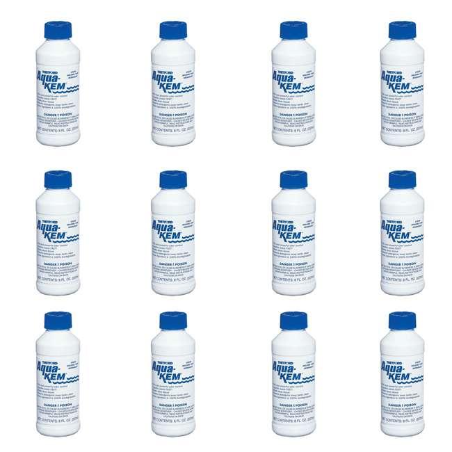 3106 Thetford Aqua Kem Liquid Bottle RV Holding Tank Odor Deodorizer (12 Pack)