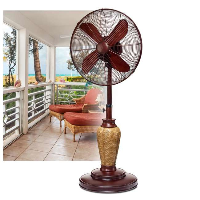 DBF0889 DecoBreeze Adjustable Height Fan, Kailua 1