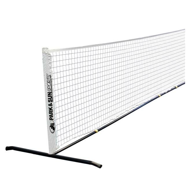 PS-PBTN-15 Park & Sun Sports 15-Foot Portable Pickleball and Tennis Set 2