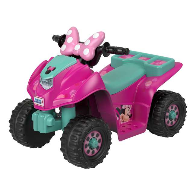FLK44-U-A Fisher Price Power Wheels Toddler ATV Ride On Minnie Mouse Lil Quad (Open Box)