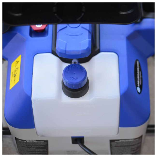 AR2N1 AR Blue Clean AR2N1 2 in 1 2,050 PSI 120 Volt Electric Pressure Washer, Blue 3
