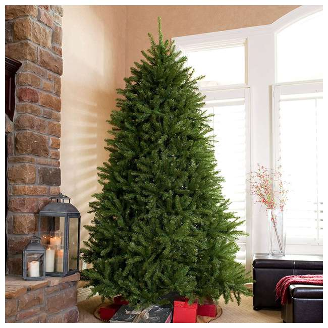 DUH3-75 National Tree Dunhill Fir Full Unlit Artificial Synthetic Christmas Tree, Green 2