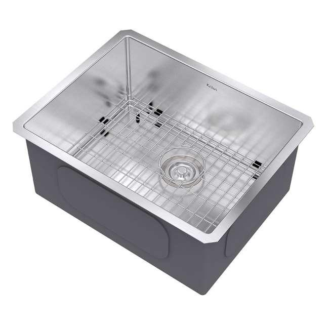 KHU101-23 Kraus 23-Inch Rectangular Undermount Stainless Steel Kitchen Sink (2 Pack) 2