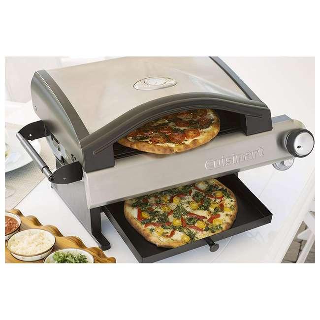 CPO-600 Cuisinart CPO-600 Alfrescamore Gas Powered Portable Outdoor Pizza Oven, Silver 2