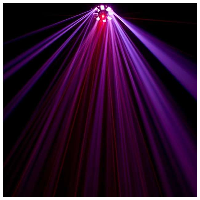4 x STINGER American DJ Stinger DMX Laser, Strobe and Moonflower LED Light Effect (4 Pack) 3