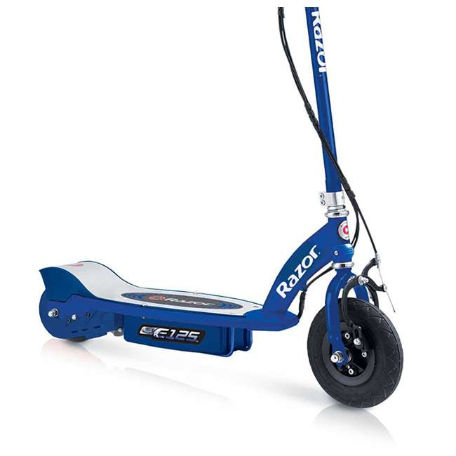 13111141 Razor E125 Motorized Rechargeable Electric Scooter, Blue (2 Pack) 3