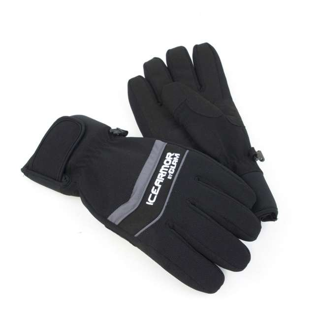 CLAM-9797-U-A Clam IceArmor Edge Outdoor Winter Waterproof Ice Fishing Gloves Small (Open Box)