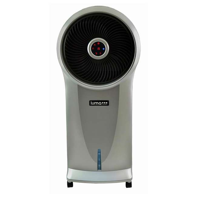 EC110S-U-B Luma 250 Sq Ft 3 Speed Evaporative Cooler w/ Remote, Silver  (Used) (2 Pack) 5
