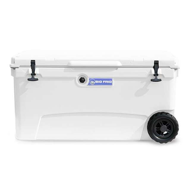BFDB70WS-WH Big Frig Denali 70 Quart Insulated Plastic Cooler, White