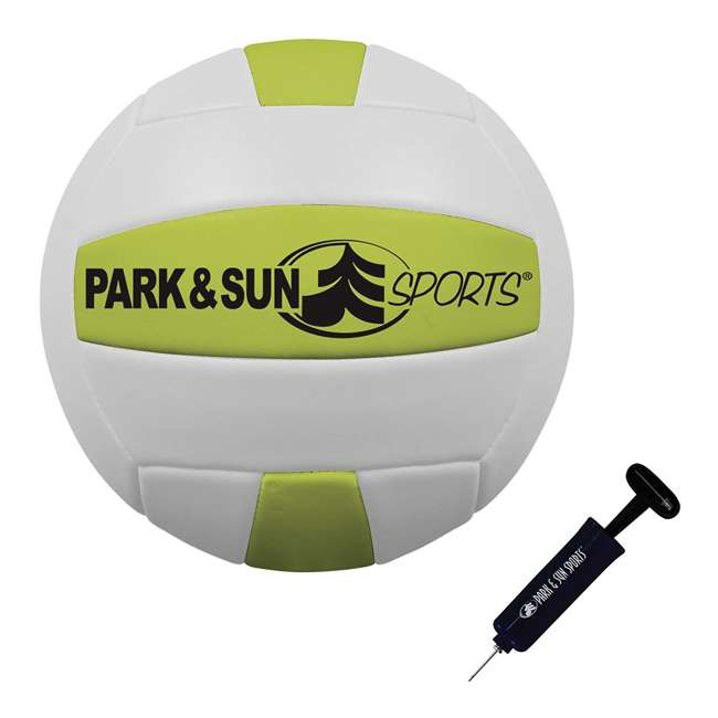 TS-FLEX-1000B Park & Sun Sports Tournament Flex 1000 Outdoor Volleyball Net Set 3