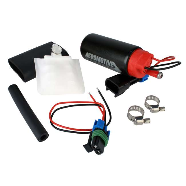 AERO-11542 Aeromotive 340 Series Stealth Vehicle In-Tank Center Inlet E85 Fuel Pump System