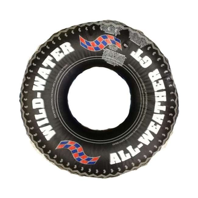 "4 x 9021 4 Swimline 902136"" Inflatable Printed Tire Tubes 2"