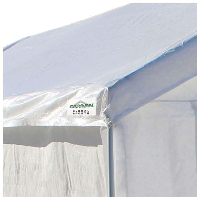 CVAN22006200010 + CVAN12000211010 Caravan Canopy Domain 10 x 20-Foot Canopy with Sidewalls 7
