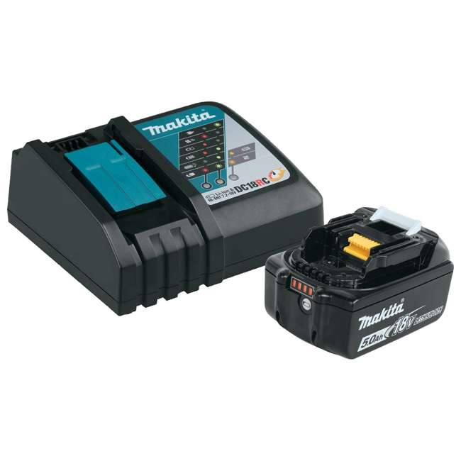 BL1850BDC1 Lithium-Ion Battery and Charger Starter Pack, 18V