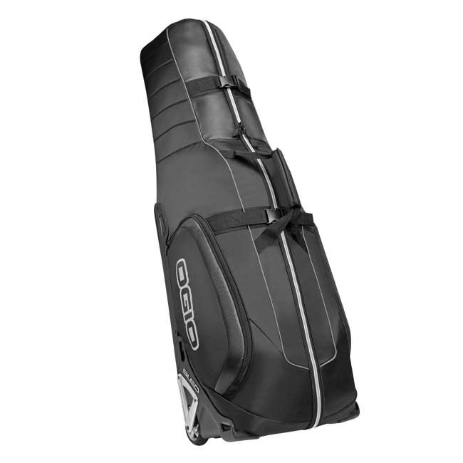 MONSTER-CARBON-U-A OGIO MONSTER Padded Golf Airplane Travel Bag Cover w/ Wheels, Carbon (Open Box)