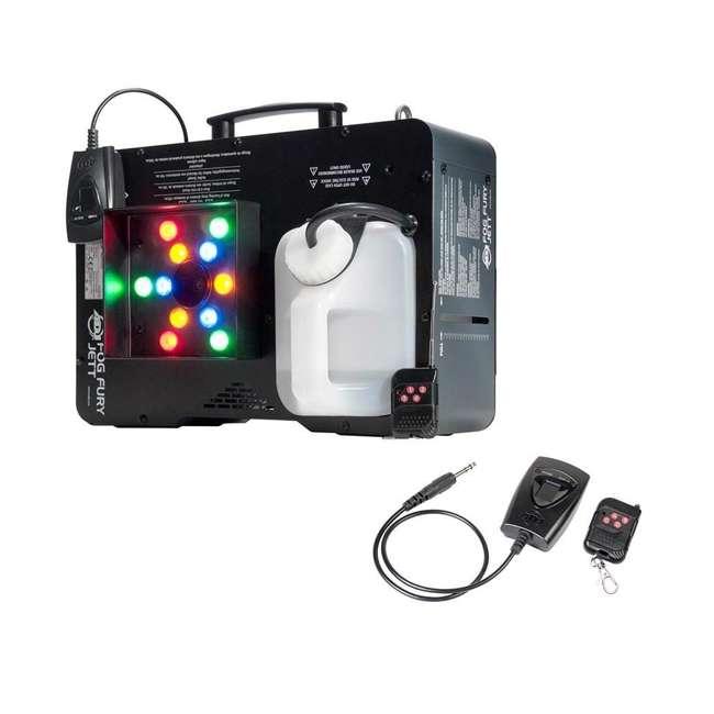 FOG-FURY-JETT American DJ Fog Fury Jett Fog Smoke Machine & LED Lights with Wireless Remote 1