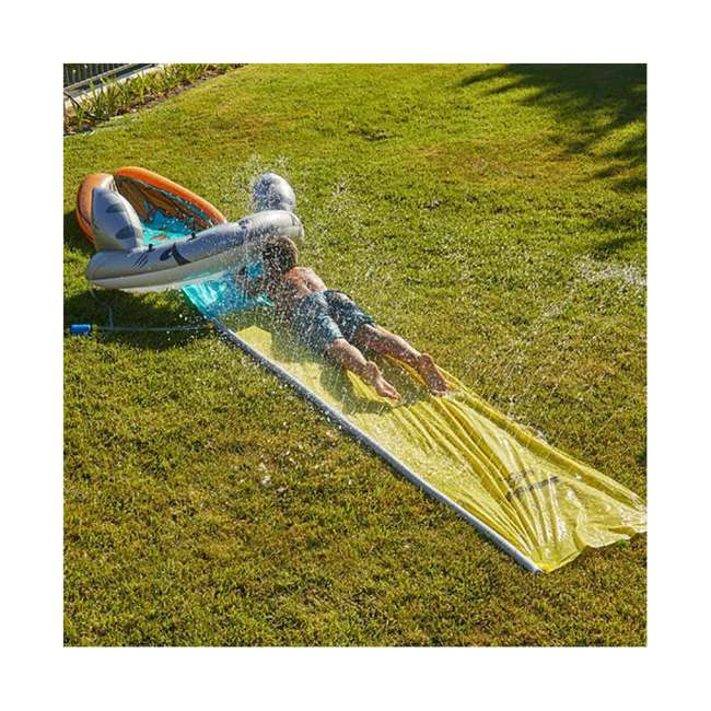 WMO-64762 Wham-O 16-Foot Mega Shark Slip-N-Slide Outdoor Water Slide Toy 2