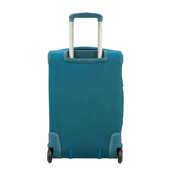 """40229172032 DELSEY Paris 2 Wheel Spinner Upright 20"""" Hyperglide Carry On Travel Case, Teal 3"""