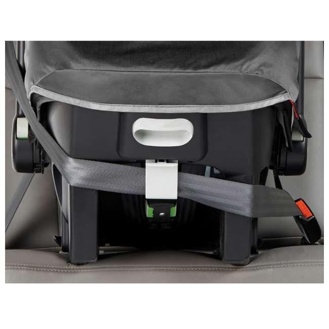 1969638 Baby Jogger City Go Baby Infant Car Seat, Steel Gray 2