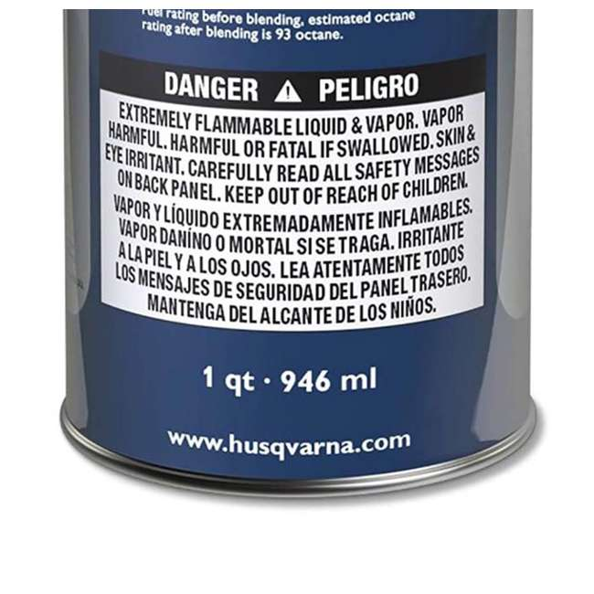 HV-FUEL-581158701 - (6 PACK-FULLCASE) Husqvarna XP Pre-Mixed Fuel and Engine Oil Quart (6 Pack) 3