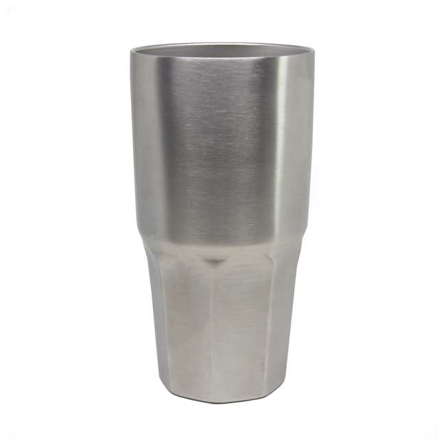 TUMBLER-L30oz-SS Insulated 30-Ounce Travel Tumbler, Stainless Steel 3