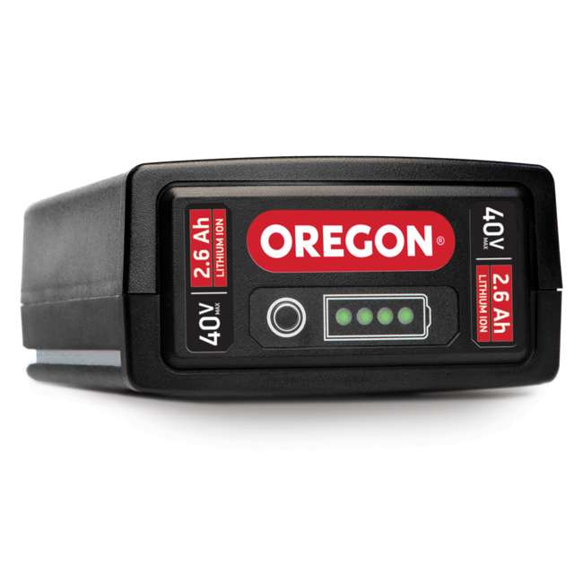 ORE-563455 Oregon PS250 40 Volt Cordless Pole Saw with 2.6 Ah Battery and C650 Charger 1