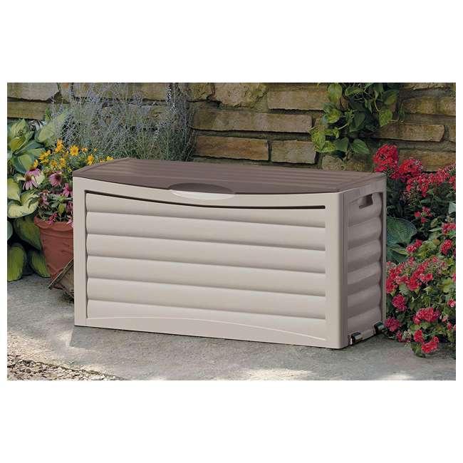 DB6300 Suncast 63 Gallon Deck Storage Box, Taupe 1