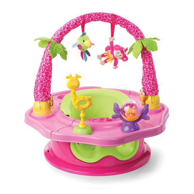 13305C Summer Infant 3-Stage SuperSeat Deluxe Giggles Island Booster and Activity Seat
