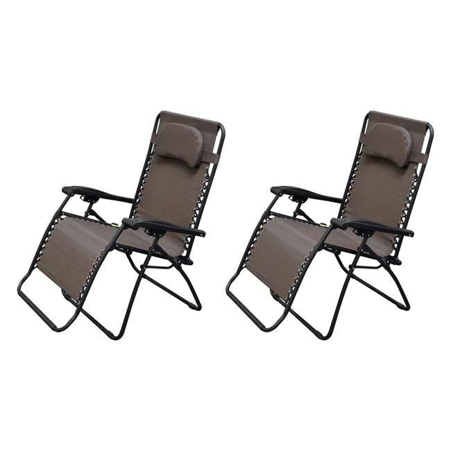 Caravan Canopy Infinity Zero Gravity Patio Chair (2 Pack)  CVAN80009000161  sc 1 st  VMInnovations & Caravan Canopy Infinity Zero Gravity Patio Chair (2 Pack ...