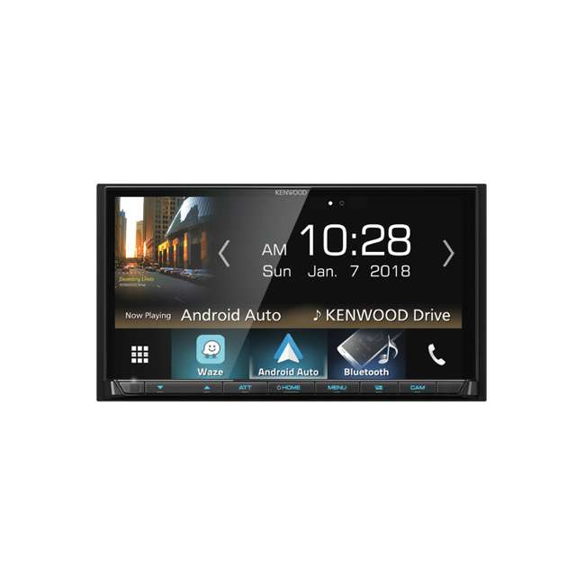DMX7705 Kenwood eXcelon 6.95-Inch Receiver with Bluetooth & HD Radio 1